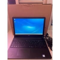Notebook Dell Intel(R) Core(TM) i7-7500u CPU @ 2.70GHz  2.90GHz  8GB RAM 1TB HD - Seminovo