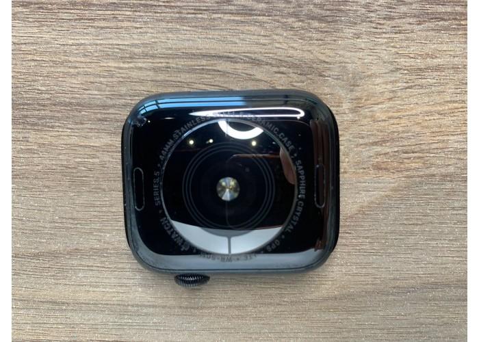 Apple Watch Aço Inoxidável Series 5 44mm Gps + Celular Grafite - Seminovo