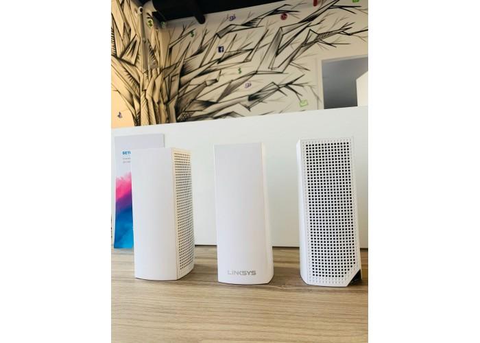 Sistema Wi-fi Mesh Linksys Velop Branco 3 Unidades - Seminovo