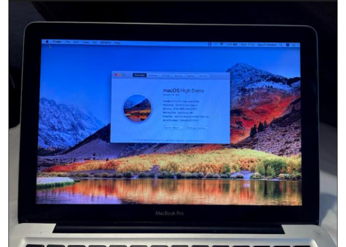 Macbook Pro (13-inch, Mid-2012) 4GB 500GB HD - Seminovo