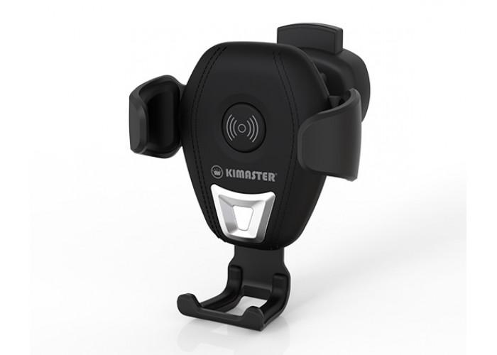 Suporte veicular Kimaster com carregamento wireless por indução - KW135
