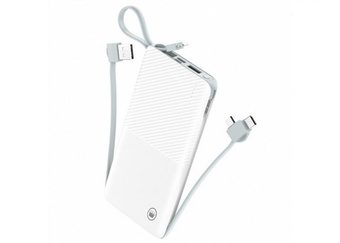 Power Bank Kimaster Portátil 12800mAh Slim com cabo removível - PN951X