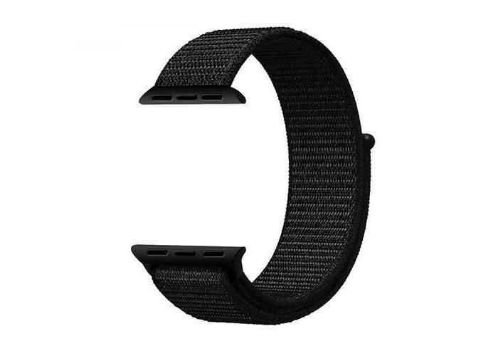Pulseira 1˚Linha Loop Preta para Apple Watch 38mm e 40mm