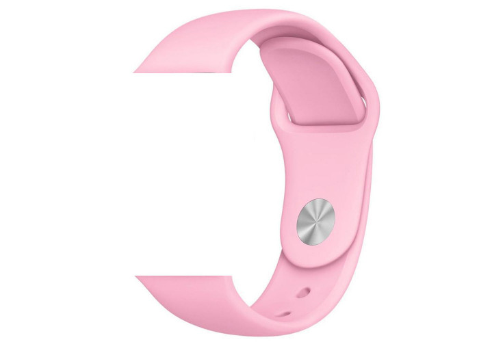 Pulseira 1˚Linha Sport Rosa para Apple Watch 38mm e 40mm