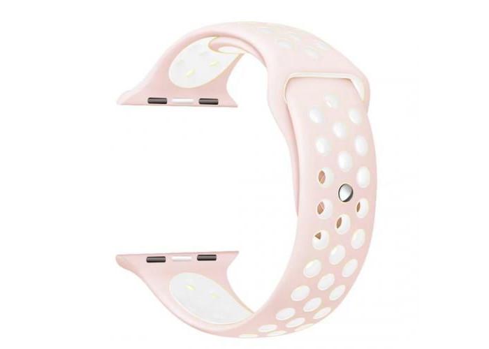 Pulseira 1˚Linha Nike Rosa para Apple Watch 38mm e 40mm