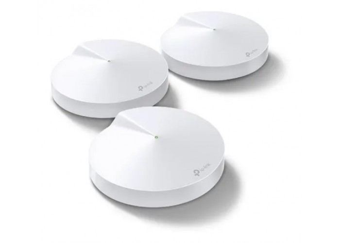 Kit 3 Roteador Wifi Tp-link Rede Mesh Ac1300 Mbps Deco-m5