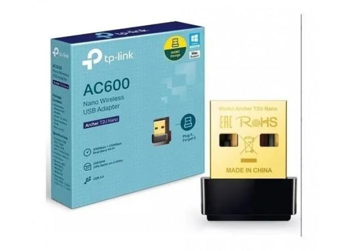 Adaptador Archer T2u Nano Usb Wi-fi Wireless Ac600 Tp-link
