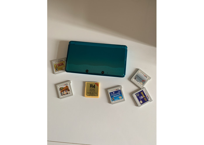 Nintendo 3DS + Jogos originais + 3 Bolsas / USADO