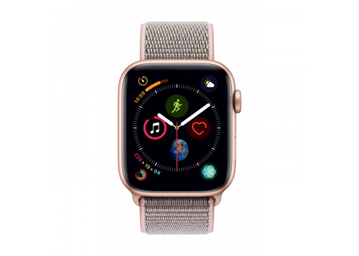 Watch Series 4 44mm Caixa Dourado de Alumínio com Pulseira Loop