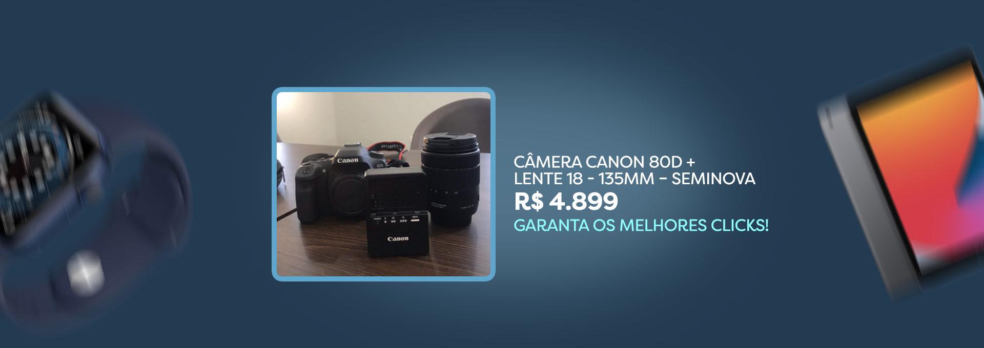 Camera Canon - Seminovos Go Imports