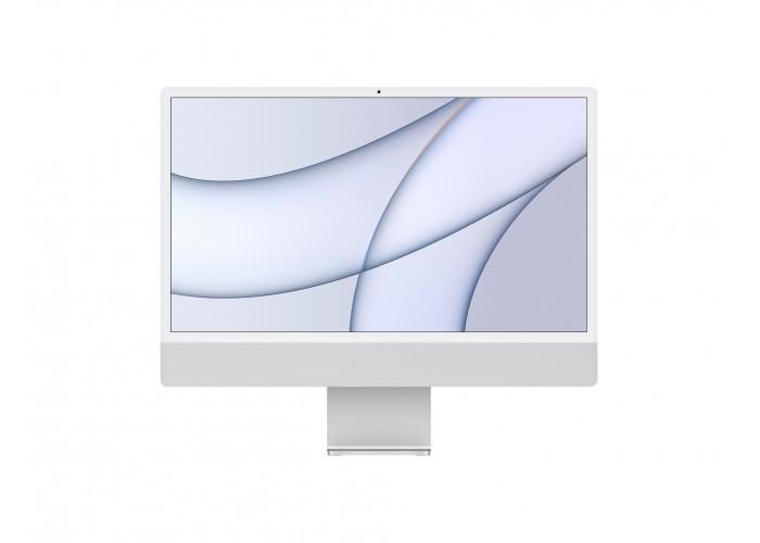 """iMac 24"""" M1 8 GPU/CPU 8GB RAM 256GB SSD Prateado"""