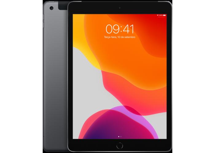 iPad 7˚ Geração Cinza espacial 32GB Wifi + Cellular
