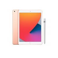 Combo - iPad 8˚Geração Dourado 128GB Wifi + Apple Pencil (1ª geração)