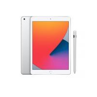 Combo - iPad 8˚Geração Prateado 128GB Wifi + Apple Pencil (1ª geração)