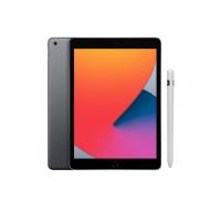 Combo - iPad 8˚Geração Cinza espacial 128GB Wifi + Apple Pencil (1ª geração)