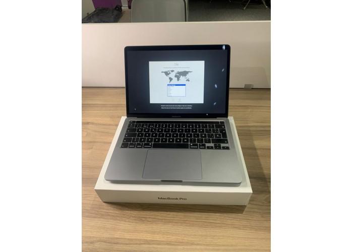 """Macbook Pro 13"""" (2020) Space Gray Touch Bar/ID - i5 2.0Ghz 10˚ Geração / 16 GB com 3733 MHz / 1TB SSD/ Intel Iris Plus Graphics Teclado espanhol - SEMINOVO"""