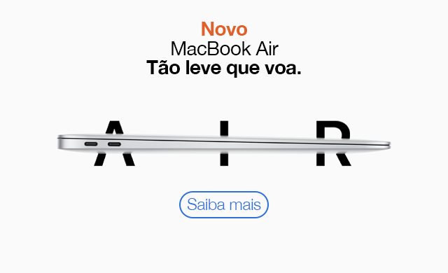 Novo Macbook Air 2020