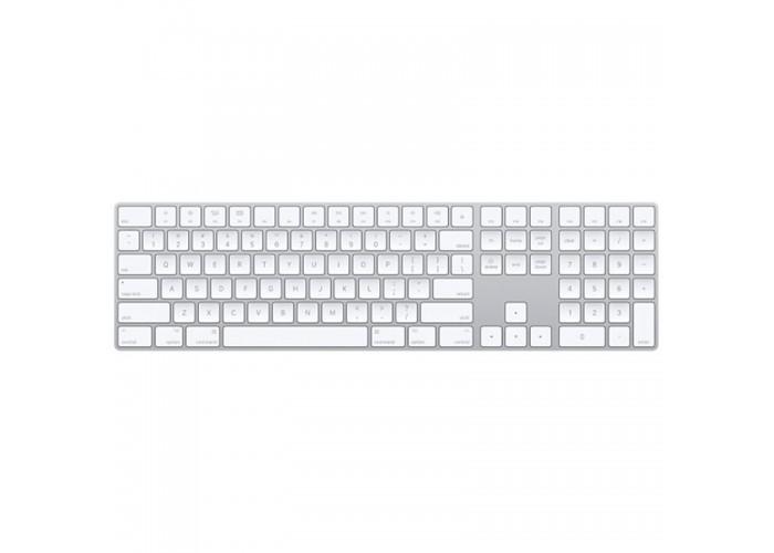 Magic Keyboard com teclado numérico - Prateado