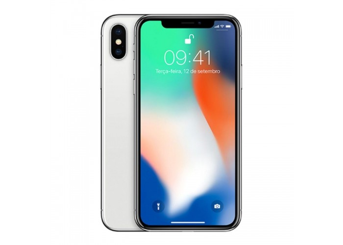 Iphone X Prata 256GB