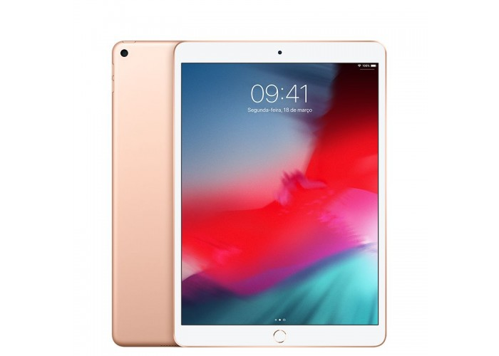 iPad Air 3 256GB Dourado Wi-Fi + Cellular