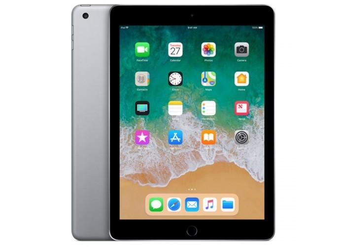 """iPad 6ª Geração 9.7"""" 128GB Cinza-espacial Wi-Fi + Celular (compatível com Apple Pencil)"""