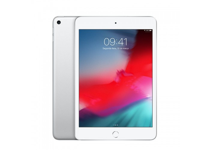 iPad Mini 5 256GB Prateado Wi-Fi