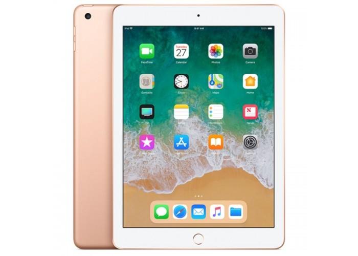 """iPad 6ª Geração 9.7"""" 128GB Dourado Wi-Fi + Celular  (compatível com Apple Pencil)"""