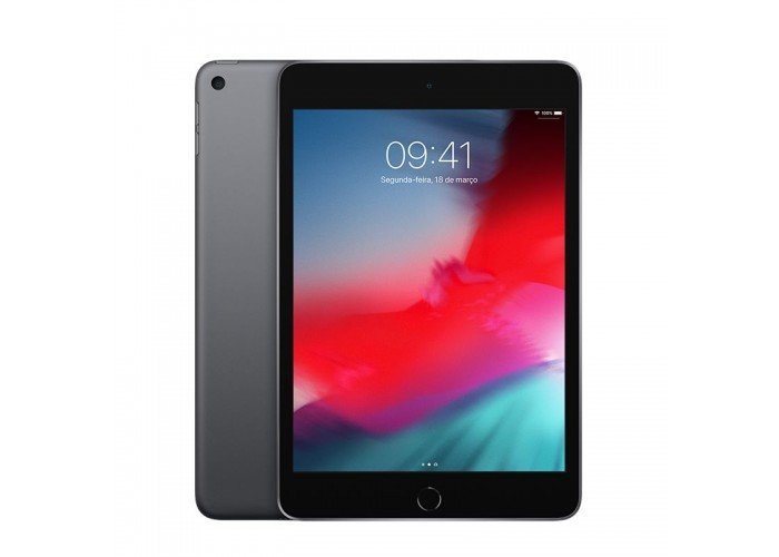 iPad Mini 5 256GB Cinza-Espacial Wi-Fi + Cellular