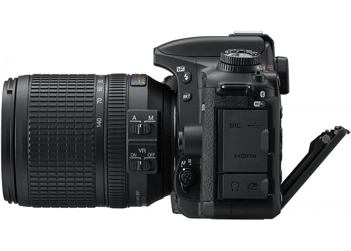 Câmera Digital DSLR Nikon D7500 lente de 18-140mm