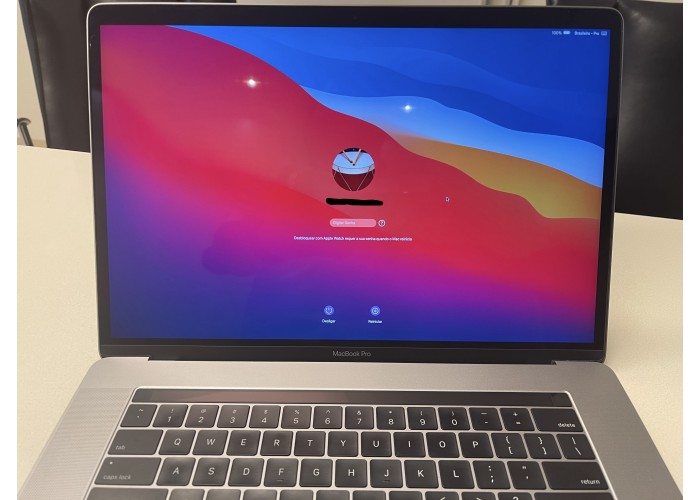"Macbook Pro 2017 15,4"" i7 2.9GHz 16GB 512GB SSD - Seminovo"